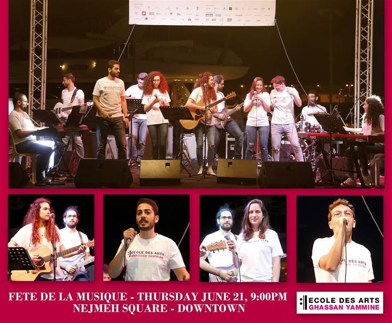 Ecole des Arts Ghassan Yammine proudly invites you to its Band Concert!... (Beirut, Lebanon)